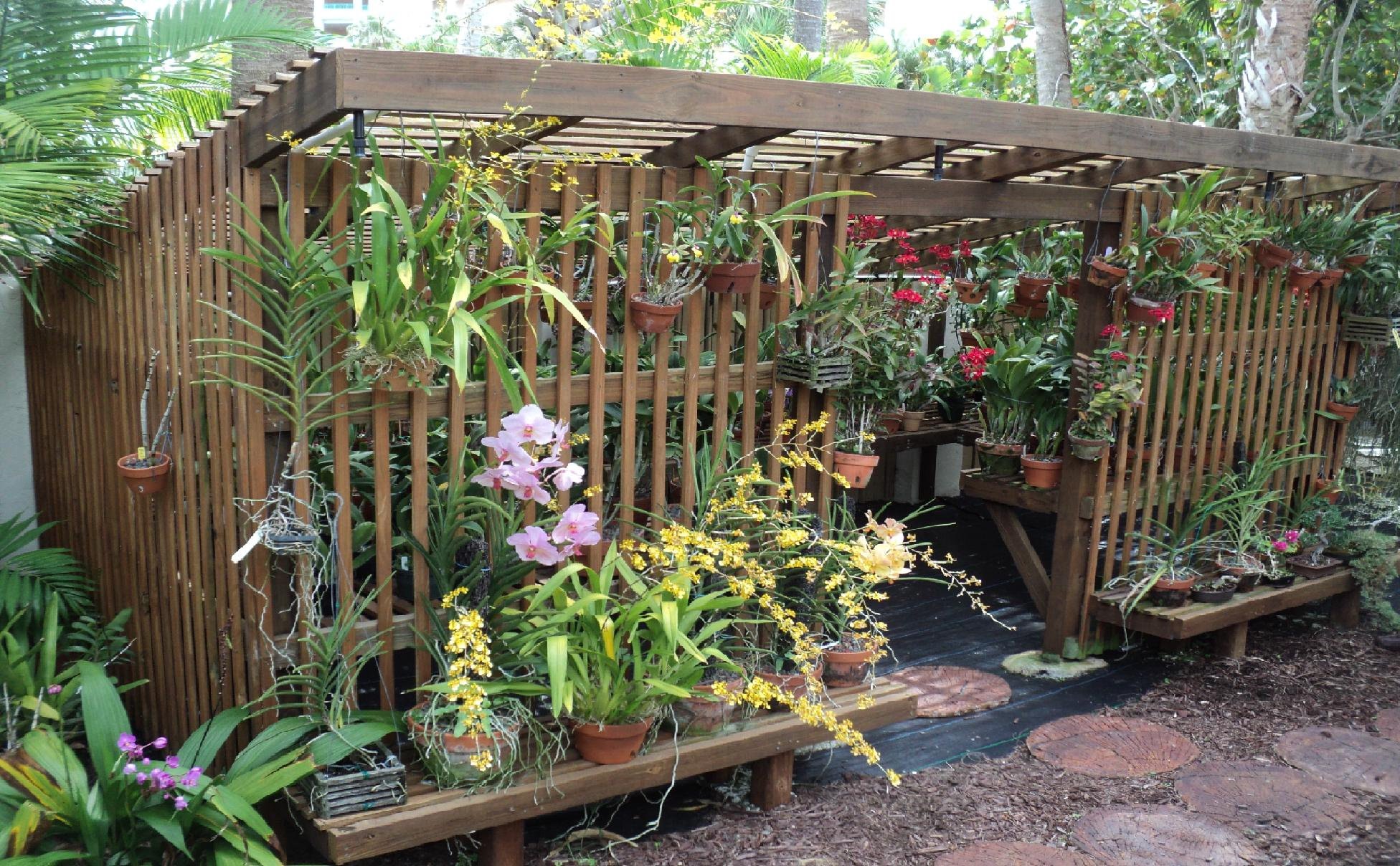 How To Build An Orchid Lath House